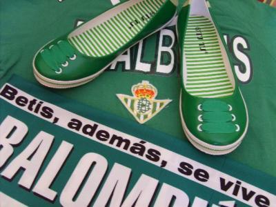 Zapatitos verdiblancos