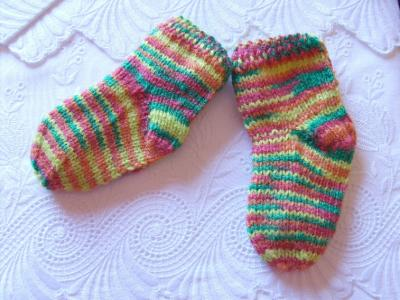 Calcetines de bebé...